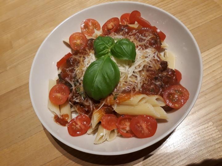 Vegetar pasta +anbefaling