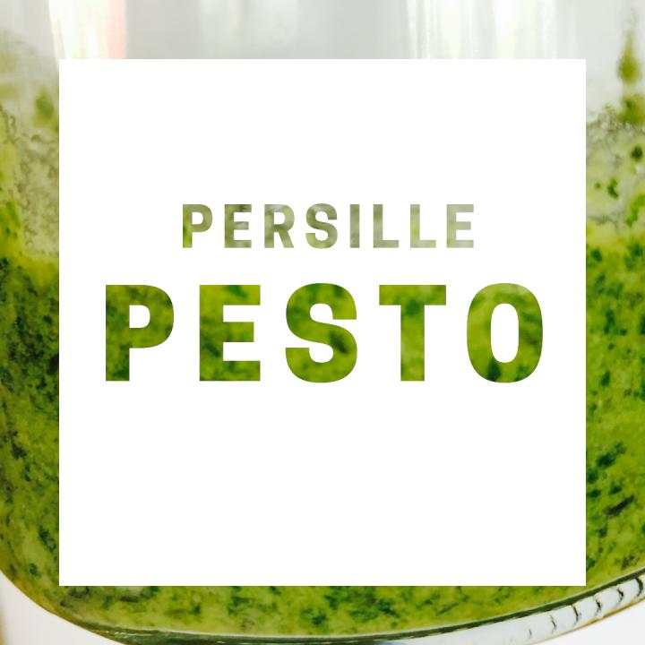 Pesto med persille