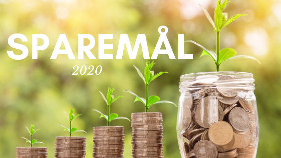Sparemål for 2020